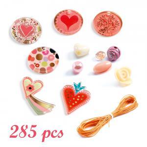Djeco - DJ09855 - Perles et bijoux - Cœurs (423512)