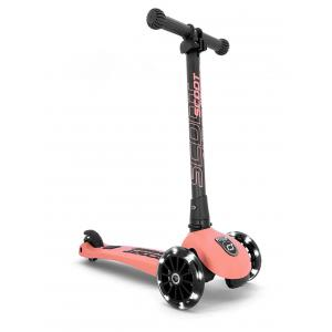 Scoot and Ride - SR-HWK3LCW10 - Trottinette 3 roues Highwaykick 3 Led - Pêche (423612)