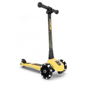 Scoot and Ride - SR-HWK3LCW11 - Trottinette 3 roues Highwaykick 3 Led - Citron (423614)