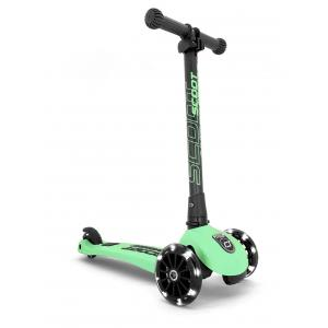 Scoot and Ride - SR-HWK3LCW12 - Trottinette 3 roues Highwaykick 3 Led - Kiwi (423616)