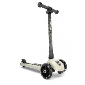 Scoot and Ride - SR-HWK3LCW05 - Trottinette 3 roues Highwaykick 3 Led - Beige (423622)