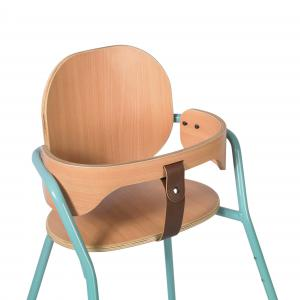 Charlie crane - TIBUBLUE - Ensemble chaise haute enfant TIBU Aruba blue et baby set (423690)