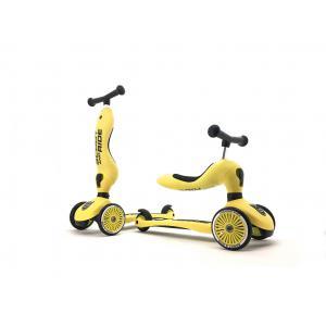 Scoot and Ride - SR-HWK1CW11 - Trottinette 2 en 1 Highwaykick 1 - Citron (423750)
