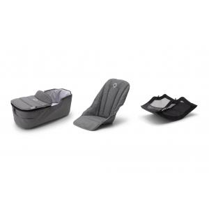 Bugaboo - 230255GM02 - Poussette Bugaboo Fox2 style set GRIS CHINE (423786)