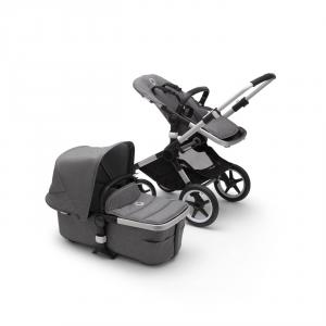 Bugaboo - 230122GM01 - Poussette Bugaboo Fox2 complete base ALU GRIS CHINE (423800)
