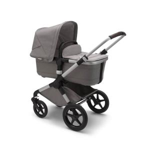 Bugaboo - 230122AQ01 - Fox2 poussette Bugaboo complete MINERAL base ALU GRIS CLAIR (423812)