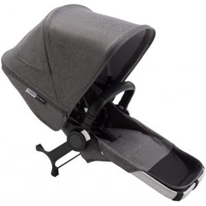 Bugaboo - 180128GM01 - Donkey3 DUO extension nacelle et siège  ALU GRIS CHINE (423856)