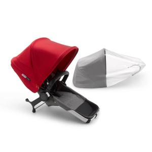 Bugaboo - 180128GM02 - Donkey3 DUO extension complete ALU ROUGE (423858)