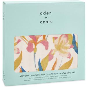 Aden and Anais - ADBS10001 - Couverture de rêve - silky soft dream blanket Marine gardens (423980)
