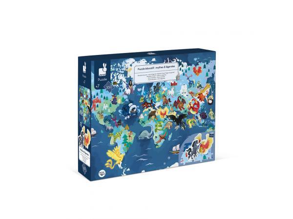 Puzzle educatif - mythes & legendes - 350 pcs
