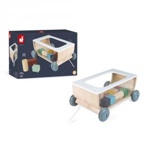 Janod - J04407 - Chariot de cubes sweet cocoon (424158)