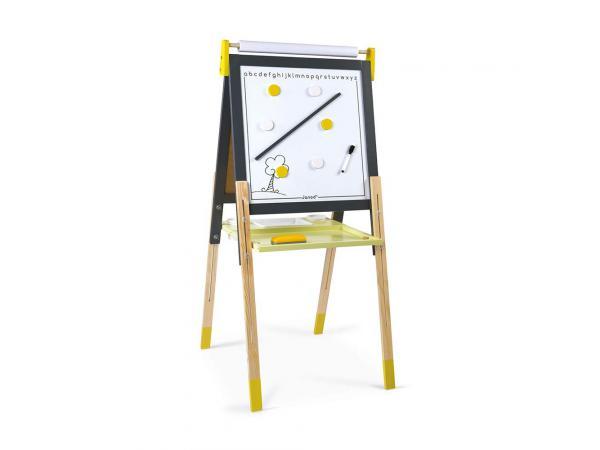 Tableau reglable gris/jaune