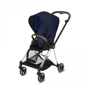 Cybex - BU270 - Cybex poussette Mios - Chrome marron, Plus Midnight Blue (424562)