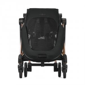 Cybex - BU271 - Poussette Mios Cyex platinum - Chrome marron, Plus Manhattan Grey (424564)