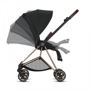 Cybex - BU274 - Poussette Mios siège réversible - Chrome marron, Soho Grey (424570)