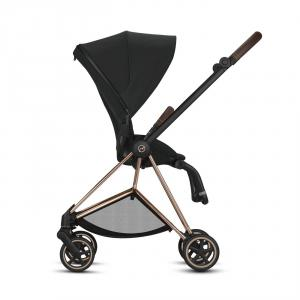 Cybex - BU276 - Poussette Mios face au monde ou face parents - Chrome marron, Mustard Yellow (424574)