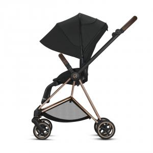 Cybex - BU278 - Poussette Mios - Chrome marron, Mountain Blue (424578)