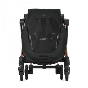 Cybex - BU283 - Poussette Mios suspensions 4 roues - Rosegold, Deep Black (424588)