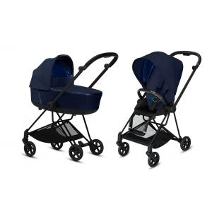 Cybex - BU294 - Poussette Pratique Mios - Noir, Plus Midnight blue (424610)