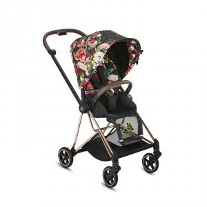 Cybex - BU300 - Poussette Special Editions Mios - Rosegold, Spring Blossom Dark (424622)