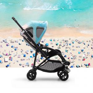 Bugaboo - 80620GN01 - Capote à fenêtres GRAY MALIN poussette Bugaboo bee5 (426340)