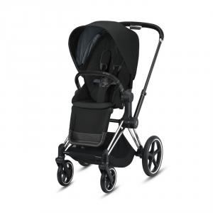 Cybex - BU314 - Poussette Priam Cybex - Chrome noir, deep black (426788)
