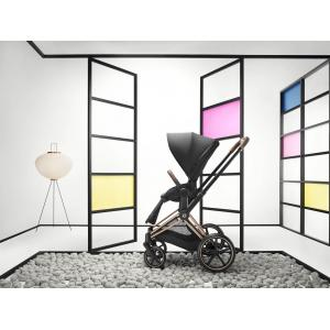 Cybex - BU319 - Poussette Priam - Chrome noir, soho grey (426798)