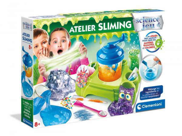 Jeux scientifique - atelier sliming