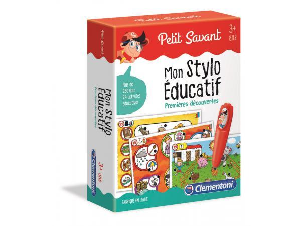 Jeux éducatifs petit savant - mon stylo éducatif - premières découvertes