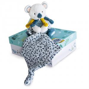 Doudou et compagnie - DC3667 - Yoca le koala - pantin avec doudou  - taille 15 cm (427998)