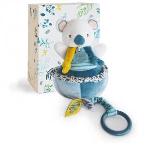 Doudou et compagnie - DC3673 - Yoca le koala - boite à musique  - taille 20 cm (428006)
