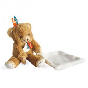 Doudou et compagnie - DC3630 - Tiwipi ours - pantin avec doudou  - taille 21 cm (428024)