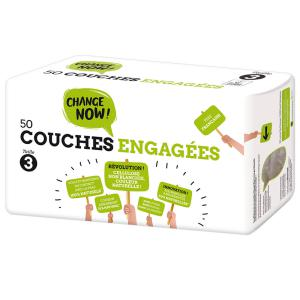 Change Now - CO1119 - 50 Couches engagées T3, 4-9 kg (428262)
