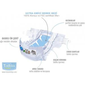 Tidoo - 06TCJUN101 - TIDOO - 46 Couches jetables ec TIDOO - 46 Couches jetables ec (428672)