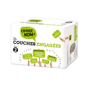Change Now - CO1118 - 36 Couches engagées T2, 3-6 kg (428988)