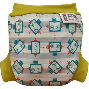 Close - 12CMBR101 - Couche de bain Robot – Small (nouveau-né, à partir de 3 kg) (429162)