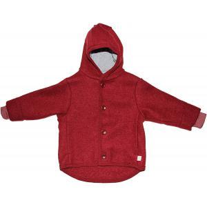 Disana - 3221398098 - 100 % laine vierge - Doublure : 100 % coton - Rouge - Large (429232)