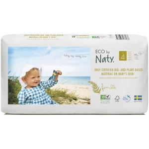 Eco By Naty - 9178433 - Couches / langes ECO - Taille 4 Maxi - (7 à 18 kg) - 44 pièces (429374)