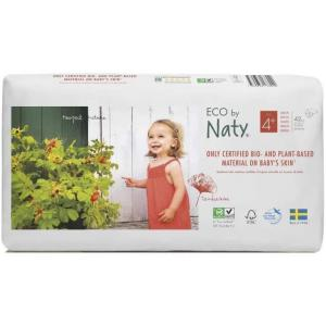 Eco By Naty - 9178440 - 42 Couches écologiques - Taille 4+, 9-20 kg (429376)