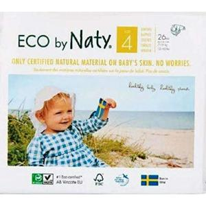 Eco By Naty - 8178389 - 26 Couches écologiques - Taille 4, 7-18kg (429378)