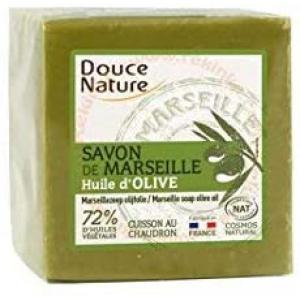 Douce Nature - 78SVM101 - Véritable savon vert de Marseille, à l'huile d'olive (429500)