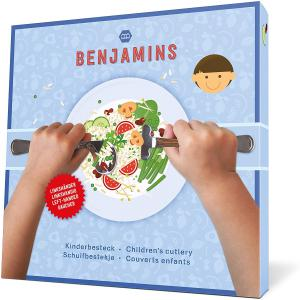 Benjamins - 95BEDCBPE102 - Ensemble de couverts pour enfants gauchers  (429676)