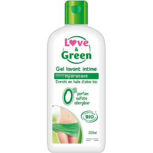 Love And Green - HF6008 - Gel Lavant Intime Hydratant Bio 200 ml (429972)