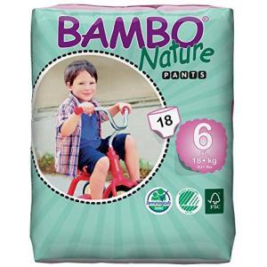 Bambo Nature - 05BNCAXLP101 - Culottes jetables écologiques T6 XL (16-30 kg) 28 culottes (430104)