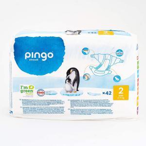 Pingo - 06PCJMI101 - 42 couches écologiques Ultra Soft T2 - 3-6 kg (430106)