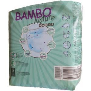 Bambo Nature - 05BNCAJMP101 - Culottes jetables écologiques T5 junior (12-20 kg) 20 culottes (430114)