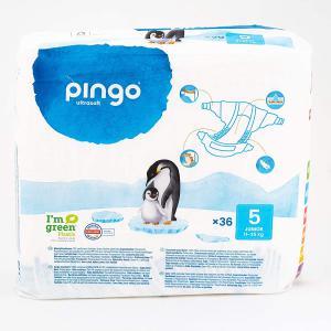 Pingo - 06PCJJUN101 - 36 couches écologiques jetables T5 - 11-25kg (430118)
