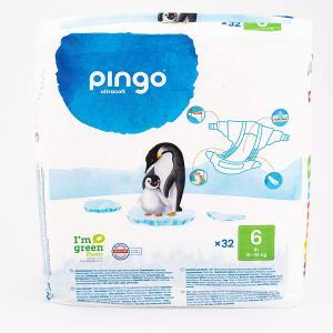 Pingo - PPING6 - 32 Couches écologiques jetables T6 - 15-30kg (430122)