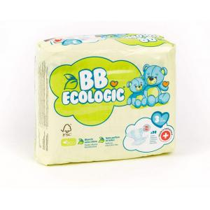 Bb Ecologic - BBECO3 - BB ECOLOGIC - 30 Couches jetab BB ECOLOGIC - 30 Couches jetab (430126)