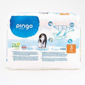 Pingo - 06PCJMIDI101 - 44 couches Pingo écologiques Midi T3 - 4-9 kg (430134)